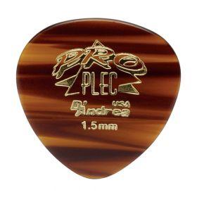 D'Andrea Pro Plec 385 Shape 1.5mm Guitar Picks- 12 Pack