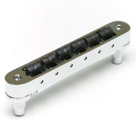 Graph Tech ResoMax NV2 AutoLock Tune-O-Matic Bridge, 4MM CHROME, PS-8843-CO
