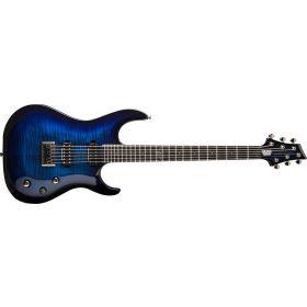Washburn PXMTR20 Trevor Rabin Signature Electric Guitar - FLAME TRANS BLUE