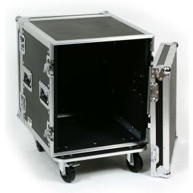OSP 12-Space ATA 12U Deep Amp Rack Flight Road Tour Case - RC12U-20