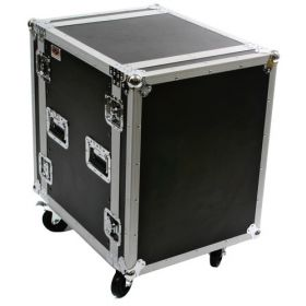 OSP 14-Space ATA 14U Deep Amp Rack Flight Road Tour Case - RC14U-20