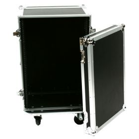 OSP 16-Space ATA 16U Shallow Effects Rack Flight Road Tour Case - RC16U-12