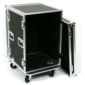 OSP 16-Space ATA 16U Deep Amp Rack Flight Road Tour Case - RC16U-20