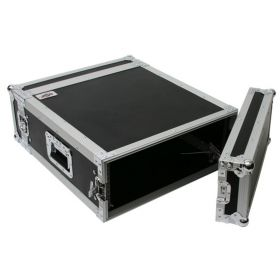 OSP 4-Space ATA 4U Deep Amp Rack Road Tour Flight Case - RC4U-20