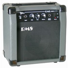 "RMS G12 12-Watt Electric Guitar Practice Amplifier Amp with 6.5"" Speaker"