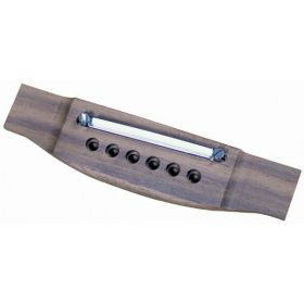 Retro Parts RP287 Adjustable Acoustic Guitar Replacement Rosewood Wood Bridge