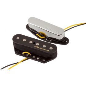 Genuine Fender Vintage Noiseless Telecaster Tele Guitar Pickups Set - 0992116000