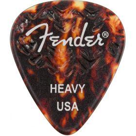 Genuine Fender Wavelength 351 Guitar Picks (6 Pack) HEAVY, SHELL - 198-3351-500
