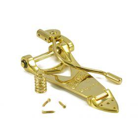 Genuine Gretsch Bigsby B6GW Gold Tremolo Vibrato Tailpiece 006-0145-100