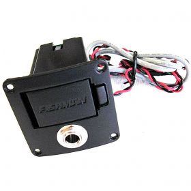 "Fishman Fender Battery Box with 1/4"" Input Output Jack for T-Bucket 100CE Guitar"