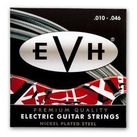 Eddie Van Halen EVH Nickel Plated Electric Guitar Strings Set, Light, 10-46