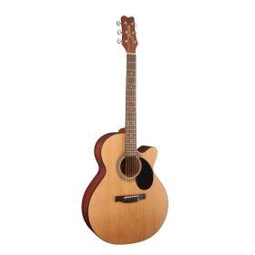 Jasmine by Takamine S34C NEX Orchestra Cutaway Acoustic Guitar - Satin Natural
