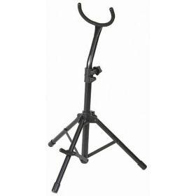 Stageline SAX-50 Black Tubular Upright Baritone Saxophone/Sax Stand