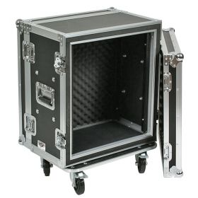 OSP 10-Space ATA Shock Mount Shallow Effects Flight Road Rack Case - SC10U-12