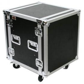OSP 12-Space ATA Shock Mount Deep Amp Flight Road Rack Case - SC12U-20
