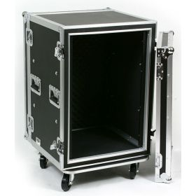 OSP 16-Space ATA Shock Mount Deep Amp Flight Road Rack Case - SC16U-20