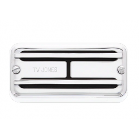 TV Jones Super'Tron Neck Pickup, Universal Mount, Chrome (STN-UVCHM)
