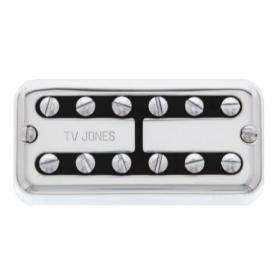 TV Jones Power'Tron Bridge Pickup, Universal Mount, Chrome (PTB-UVCHM)