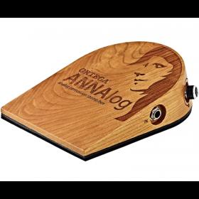 Ortega Guitars ANNALOG Stomp Box w/ Built-in Sound Optimized Piezo Tech