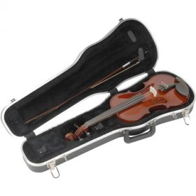"SKB 234 Deluxe Hardshell Case for 3/4 Size Violin / 13"" Viola"