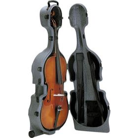 SKB 544 Hardshell Case with Built-in Wheels for 4/4 Full Size Cello