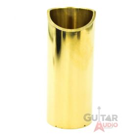 The Rock Slide, Polished Brass Guitar Slide, X-Large