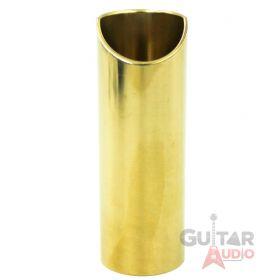 The Rock Slide, Joey Landreth Guitar Slide, Polished Brass