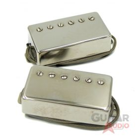 Lindy Fralin Unbucker Pickup Set for Fender, 52/50mm 4-Conductor, Nickel