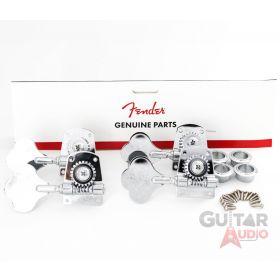 Genuine Fender MIM/Mexican Standard & Highway 1 Bass Tuning Machines Keys Tuners