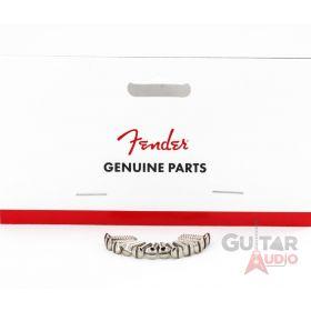 Genuine Fender Slot Head Chrome Guitar Pickguard Screws - Package of 12