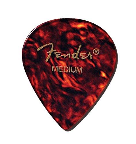 12-Pack Fender 551 Classic Celluloid Guitar Picks SHELL MEDIUM 1 Dozen