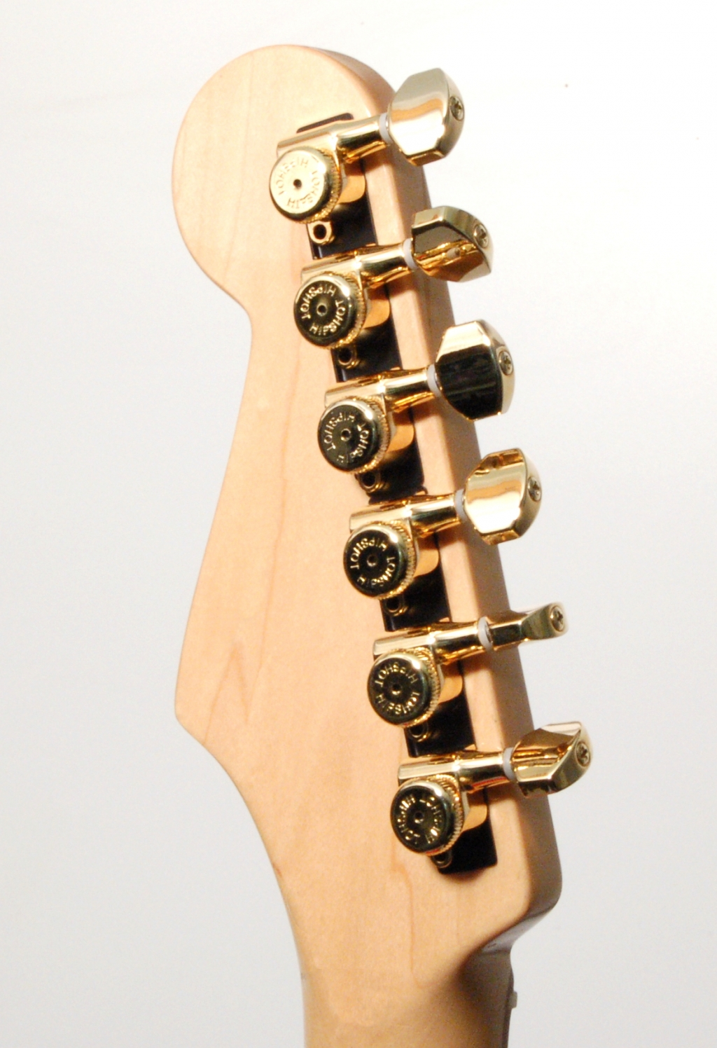 hipshot gold 6 inline grip lock non staggered closed guitar tuners w ump kit 608938453129 ebay. Black Bedroom Furniture Sets. Home Design Ideas