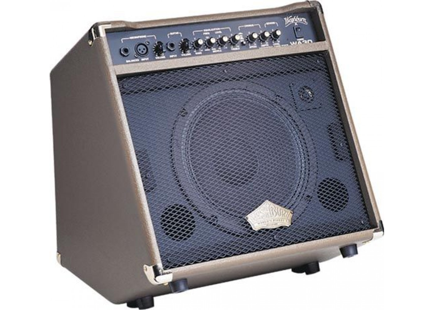Washburn Wa30 3 Watt Acoustic Guitar Amplifier Amp With Xlr Mic