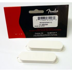 Genuine Fender Mustang/Duo-Sonic/Musicmaster/Bronco Guitar Pickup Covers - WHITE