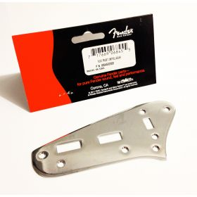 Genuine Fender USA Jaguar Preset Control Plate Switch Cover - Chrome