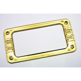 "Genuine Gretsch Pickup Mounting Ring ""Bezel"" for Filtertron - CLEAR GOLD"