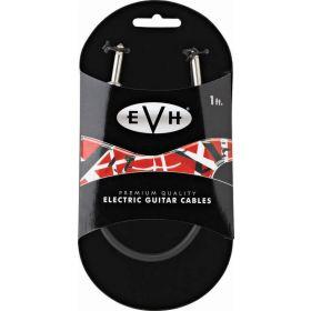 EVH Eddie Van Halen Series Premium Guitar Patch Cable, Straight Ends, 1' ft.