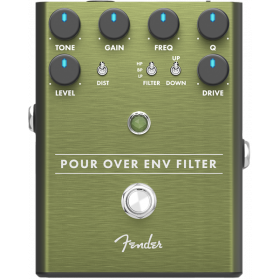 Fender Pour Over Envelope Filter Analog Guitar Effects Stomp Box Pedal