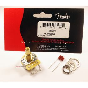 Genuine Fender CTS 500k Solid-Shaft Pot Guitar Volume/Tone Control Potentiometer