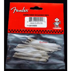 "Genuine Fender Standard 9.5"" Radius Strat/Tele Guitar Fret Wire - Package of 24"