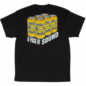 Charvel Guitars 6 Pack of Sound  Men's T-Shirt Gift, Black, S (SMALL)