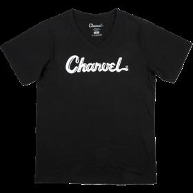 Genuine Charvel Toothpaste Logo Ladies T-Shirt, Black, XL