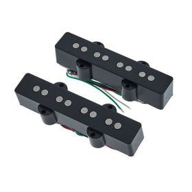 DiMarzio DP149 ULTRA JAZZ J Bass Neck and Bridge Pickups Set - BLACK