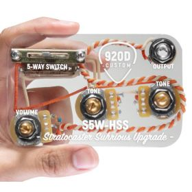 920D Custom S5W-HSS 5-Way Super Switch Wiring Harness for Fender H/S/S Strat