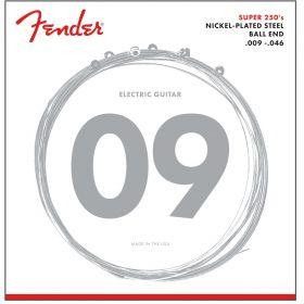 Fender Super 250LR Nickel-Plated Steel Electric Guitar Strings - LIGHT/REG 9-46