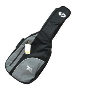 TKL 4615 Black Belt Dreadnought Acoustic Guitar Gig Bag with Accessory Pouch
