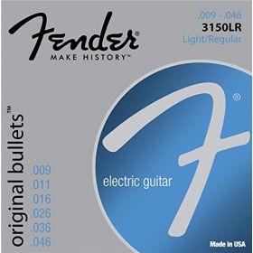 Fender 3150LR Original Bullets Electric Guitar Strings Set -LIGHT/REGULAR 9-46