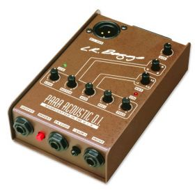 LR Baggs PARA Acoustic DI 5-Band EQ Aoucstic Guitar Preamp Direct Box