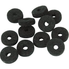 Genuine Fender Original Strap Button Black Felt Washers - Package of 12