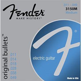 Fender 3150M Original Bullets Electric Guitar Strings Set - MEDIUM 11-49
